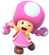Artwork of Toadette from Mario Party 10 (also used in Super Mario Run, Mario Party: The Top 100, Mario Kart Tour and Mario & Sonic at the Olympic Games Tokyo 2020)