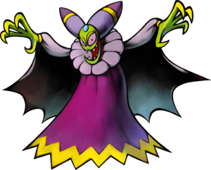 Artwork of Cackletta from Mario & Luigi: Superstar Saga