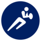 Event icon used for Rugby Sevens in Mario & Sonic at the Olympic Games Tokyo 2020