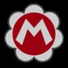 Baby Mario emblem from Mario Kart 8