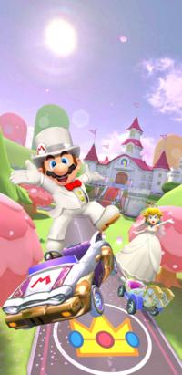 The Wedding Tour from Mario Kart Tour
