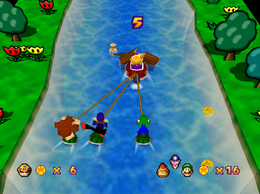 River Raiders from Mario Party 3.