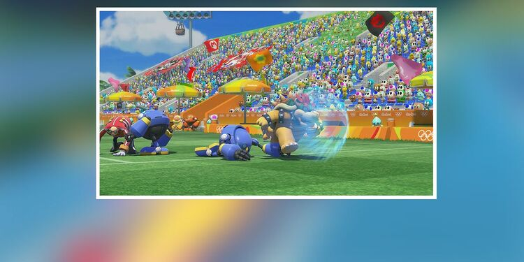 Picture shown with the fourth question in Mario & Sonic at the Rio 2016 Olympic Games Characters Quiz