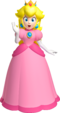 Artwork of Princess Peach from Super Mario 3D Land