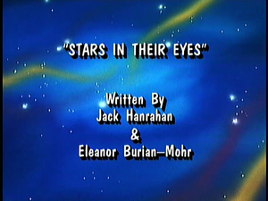 """The title card for The Super Mario Bros. Super Show! episode, """"Stars in Their Eyes"""""""