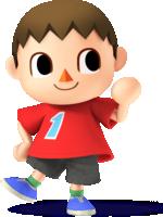 Villager's artwork from Super Smash Bros. for Nintendo 3DS / Wii U
