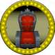 A figure of Bowser Jr.'s Chair.