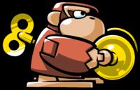 Mario vs. Donkey Kong 2: March of the Minis: Crash Kong