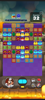 Stage 413 from Dr. Mario World
