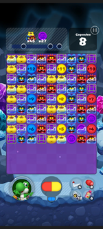Stage 517 from Dr. Mario World