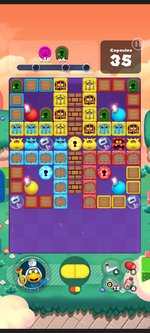 Stage 565 from Dr. Mario World