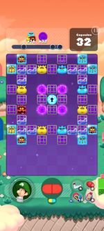 Stage 596 from Dr. Mario World