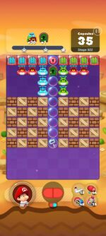 Stage 922 from Dr. Mario World