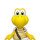 Sprite of Dr. Koopa Troopa from Dr. Mario World