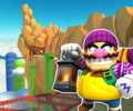 3DS Rock Rock Mountain from Mario Kart Tour