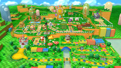 Board from Mario Party 10