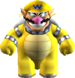Wario using the Bowser Candy.