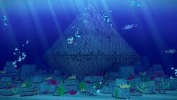 Diamond Island in Paper Mario: The Origami King