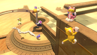 Screenshot of Super Mario 3D World.