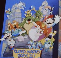 "A ""Super Mario Bros. III!"" poster."