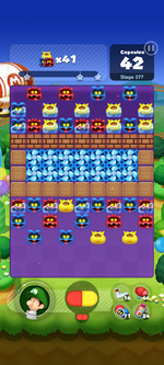 Stage 277 from Dr. Mario World