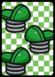 A Hopslipper ×3 Card in Paper Mario: Color Splash.