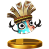 Krazy Kalimba trophy from Super Smash Bros. for Wii U