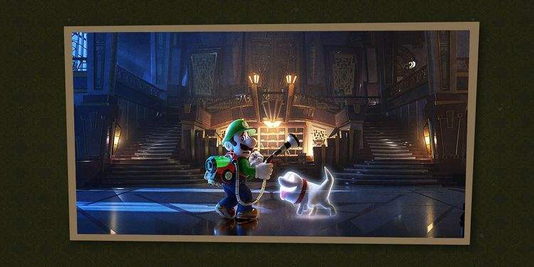 Picture shown with the second question in Luigi's Mansion 3 Trivia Quiz