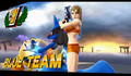 Lucario appears in the Victory Screen SSB for Wii U Glitch.png