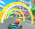 The icon of the Lakitu Cup challenge from the Tokyo Tour in Mario Kart Tour.