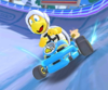 The icon of the Ice Mario Cup challenge from the Frost Tour in Mario Kart Tour