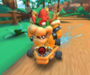 The Bowser Cup Challenge from the Ice Tour of Mario Kart Tour