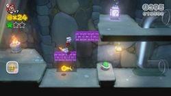 Koopa Troopa Cave in Super Mario 3D World.