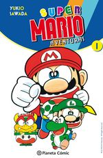 Spanish cover of the first volume of Super Mario-Kun