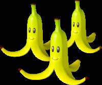 Triple Bananas in Mario Kart 8