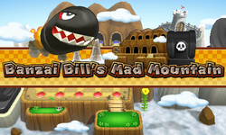 Intro for Banzai Bill's Mad Mountain from Mario Party: Island Tour.