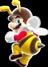 Bee Mario artwork for Super Mario Galaxy
