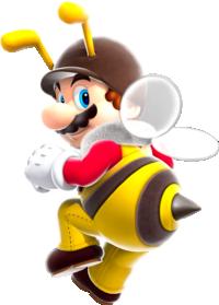 Bee Mario Super Mario Galaxy.png