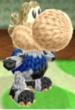 Corrin amiibo design from Poochy & Yoshi's Woolly World