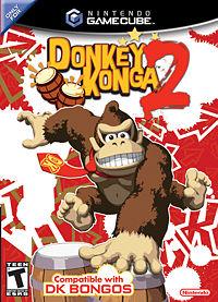Donkey Konga 2 game-cover.
