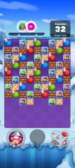 Stage 1029 from Dr. Mario World