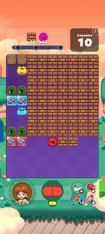 Stage 595 from Dr. Mario World