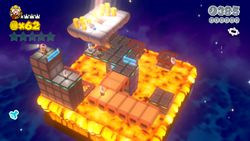 Captain Toad's Fiery Finale from Super Mario 3D World