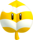 Artwork of an Invincibility Leaf from New Super Mario Bros. 2