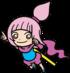 Artwork of Kat for WarioWare Gold
