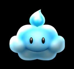 Rain Cloud from Mario Kart Arcade GP DX.