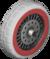 The Block_White tires from Mario Kart Tour
