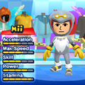 A Storm the Albatross costume for Miis in the Wii version of Mario & Sonic at the London 2012 Olympic Games.