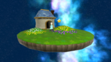 """A screenshot of Grandmaster Galaxy during """"The Perfect Run"""" mission from Super Mario Galaxy 2."""