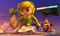 SSB4 3DS - Toon Link Fox Battlefield.png